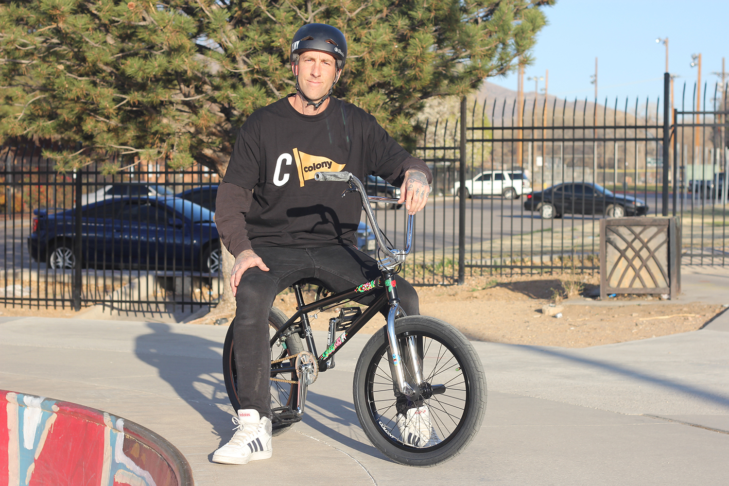 Steve Woodward Colony BMX