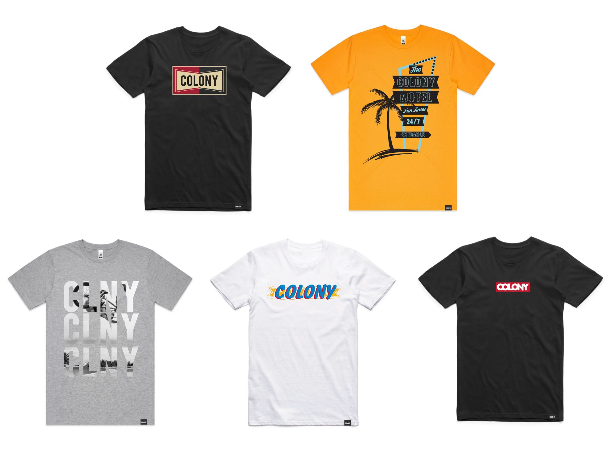Colony BMX T-Shirts
