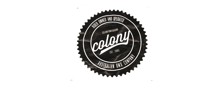 Colony BMX Banner