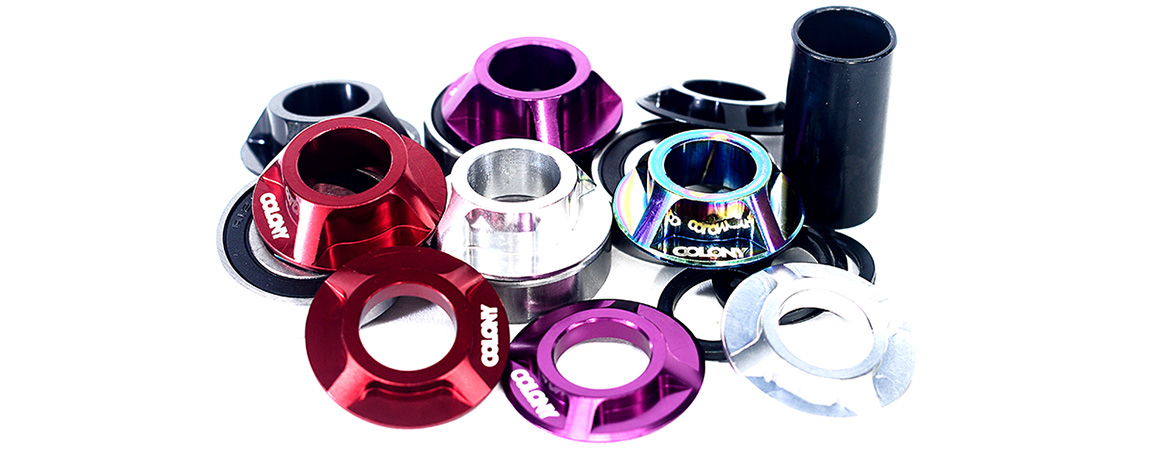 Colony BMX Mid bottom bracket kit.