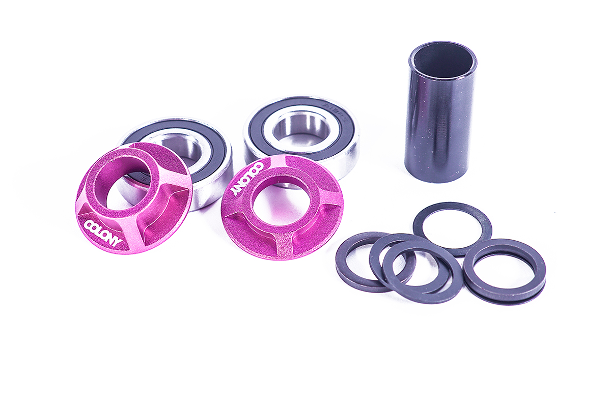 Colony BMX Mid bottom bracket kit Pink