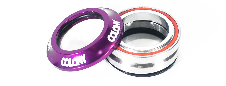 Colony BMX headsets Purple