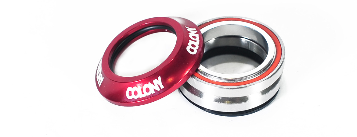 Colony BMX headsets Red
