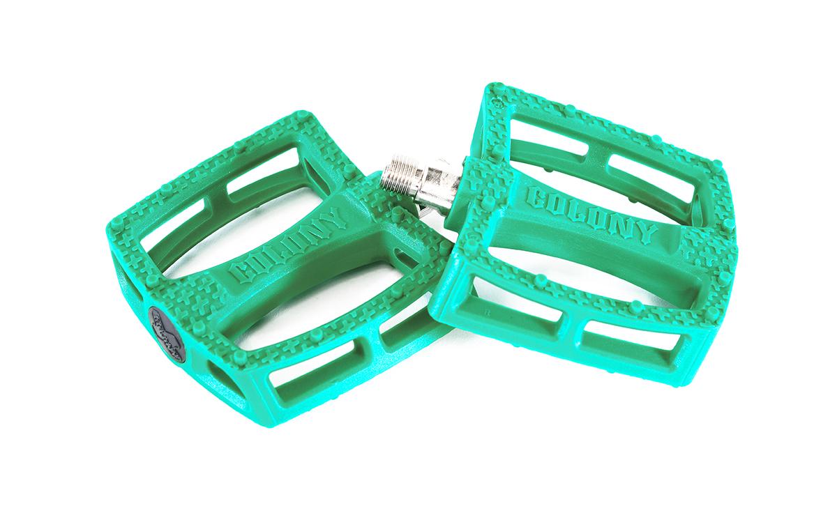 ColonyFantastic Plastic Pedals Emerald