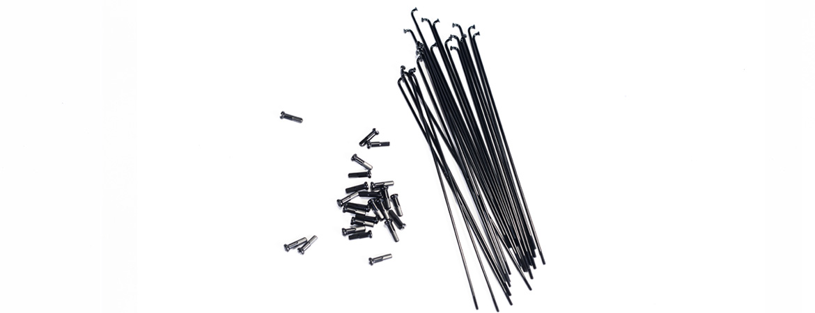 Colony Stainless Steel Spokes Black
