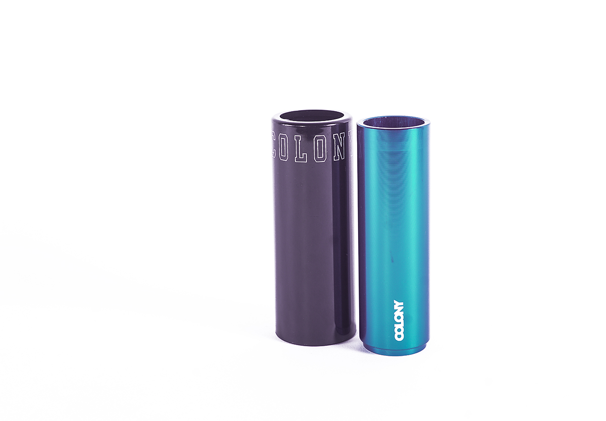 Colony BMX Anyway Plastic Pegs Blue