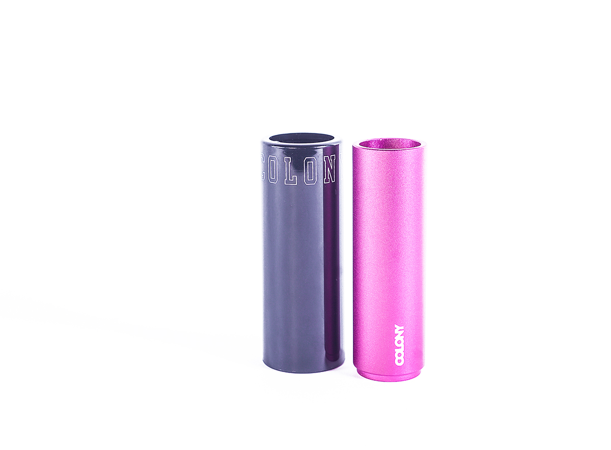Colony BMX Anyway Plastic Pegs Pink