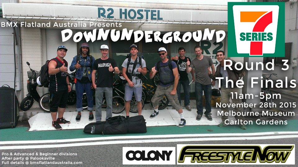 dug round 3 series 7 melbourne 28th November 2015