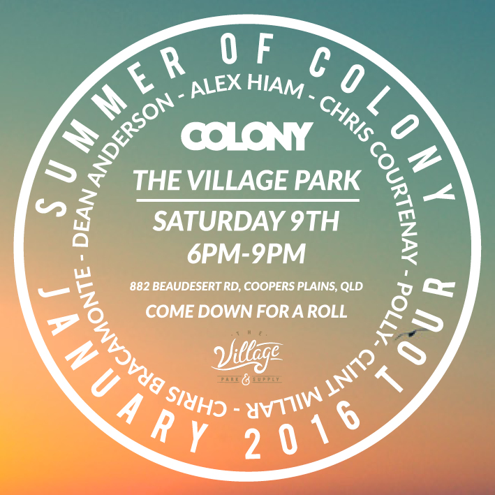 colony x village promo