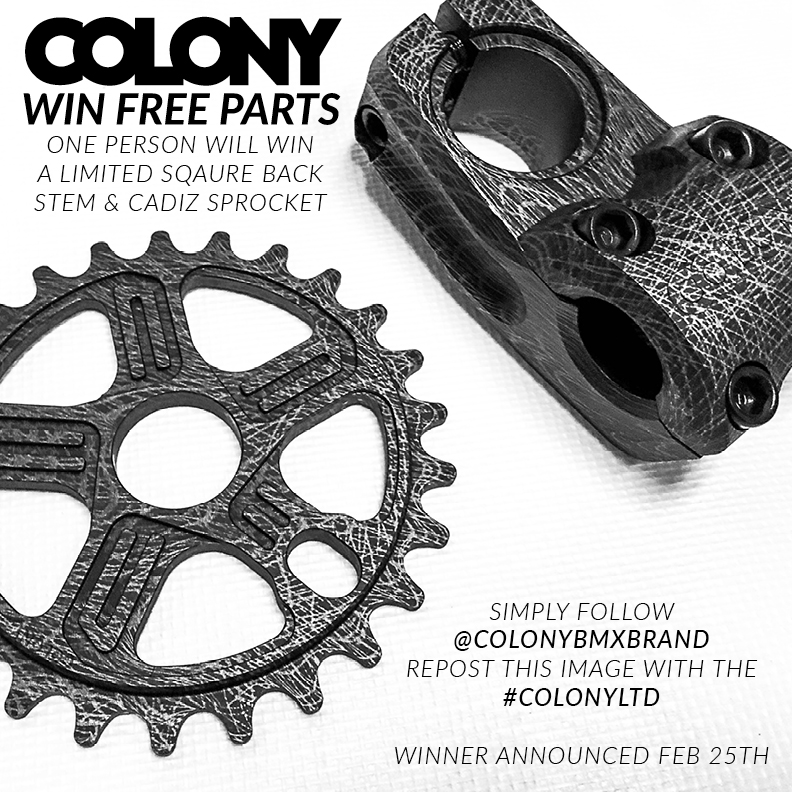 COLONY LTD SCRATCH GIVEAWAY