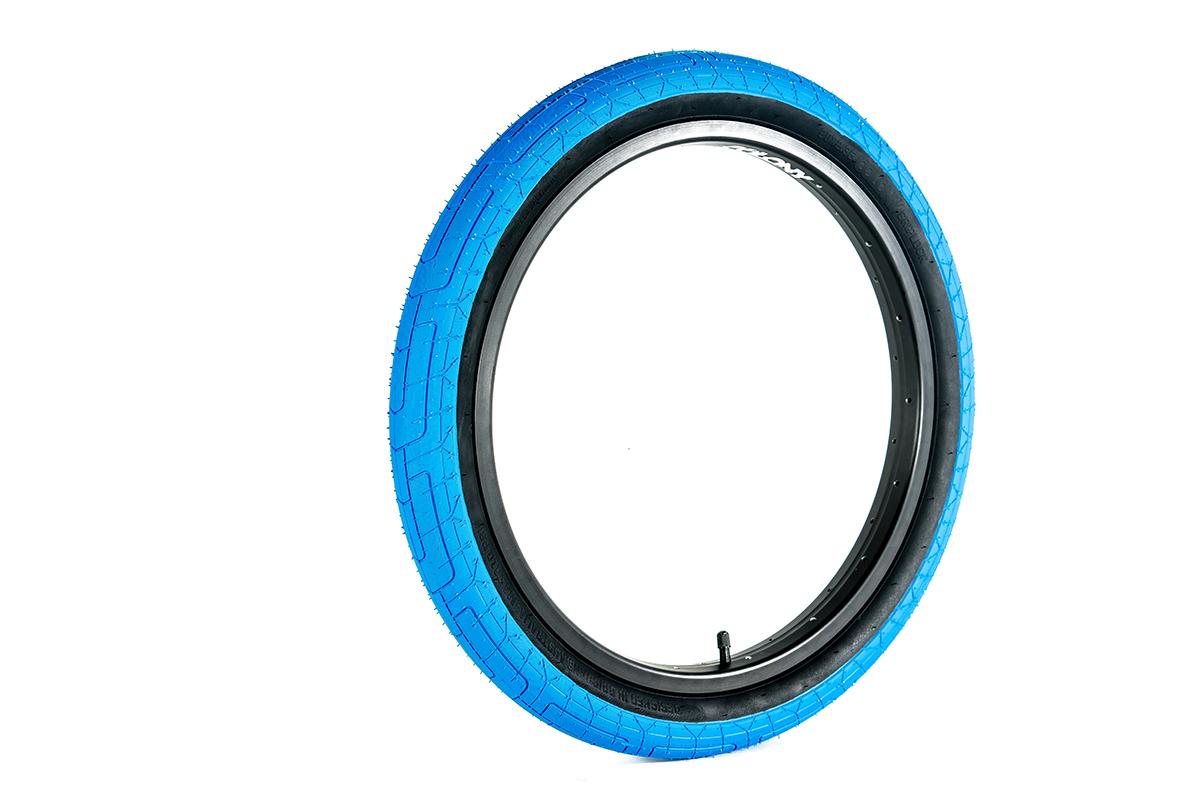 Colony Griplock BMX Tyre Blue