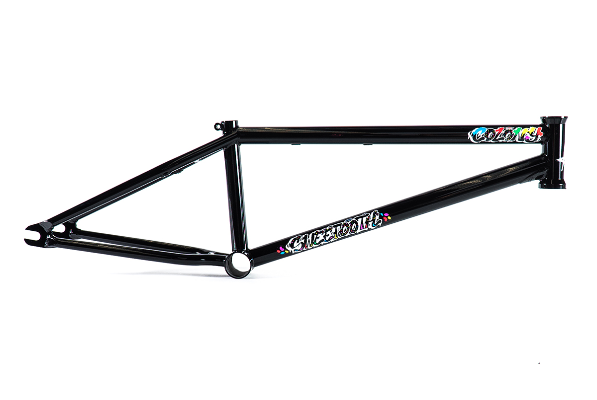 Colony BMX Sweet Tooth Frame Black
