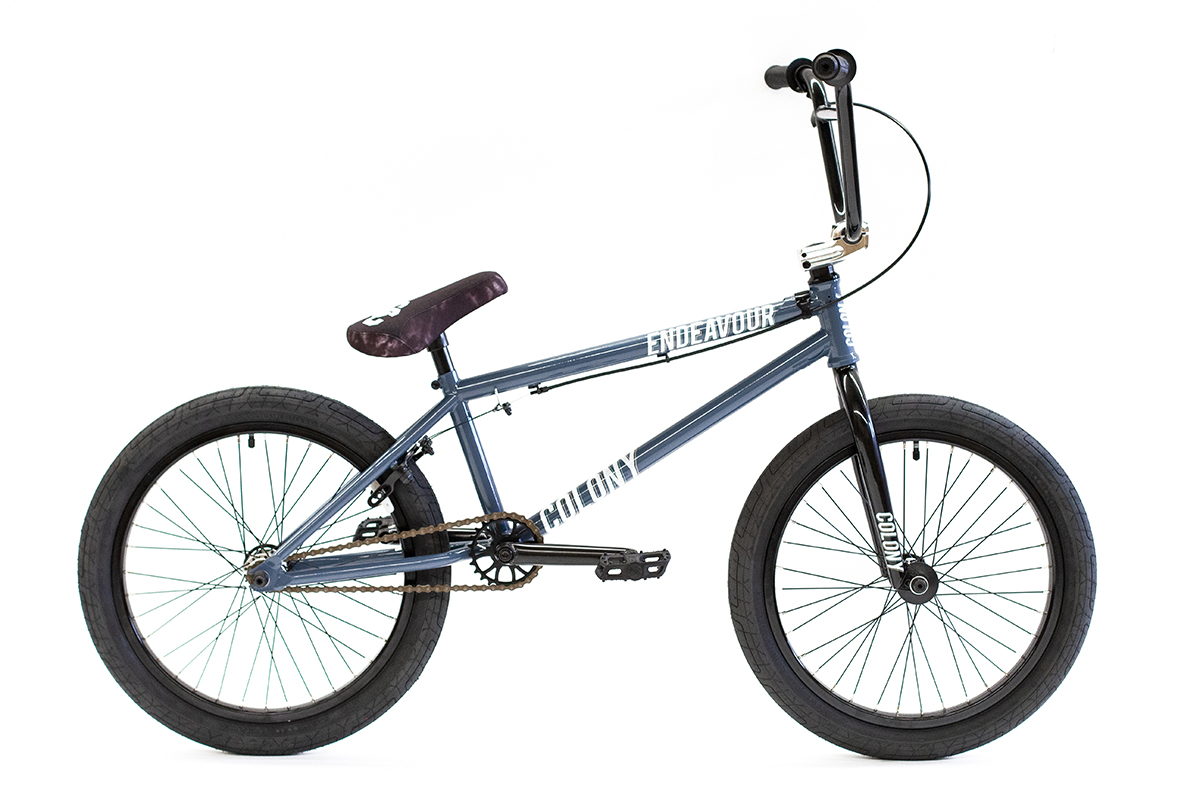 Colony Endeavour Complete BMX Bike Grey