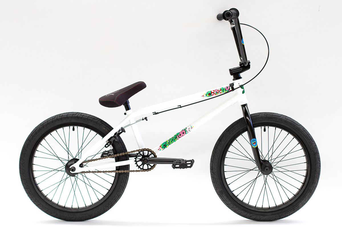 Colony BMX Sweet Tooth Pro complete bike White