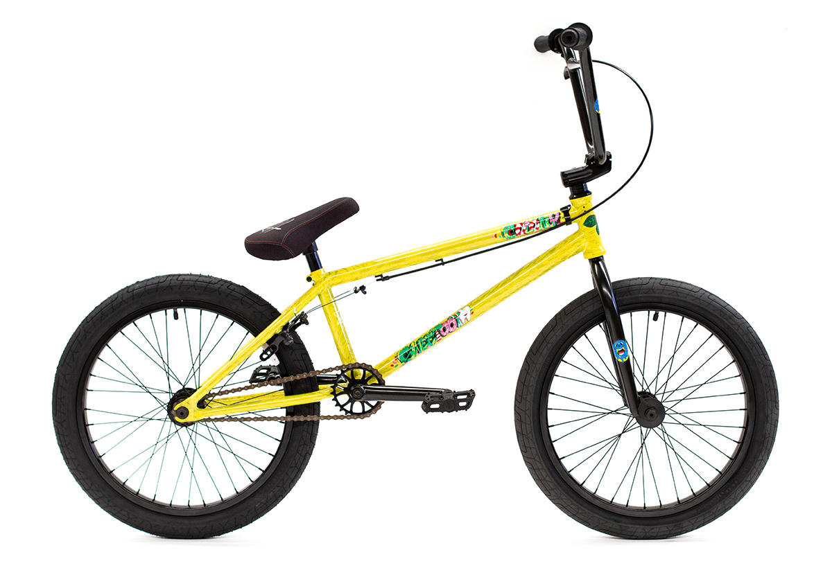 Colony BMX Sweet Tooth Pro complete bike Yellow Storm