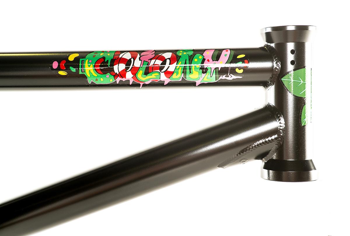Colony BMX Sweet Tooth Frame Black