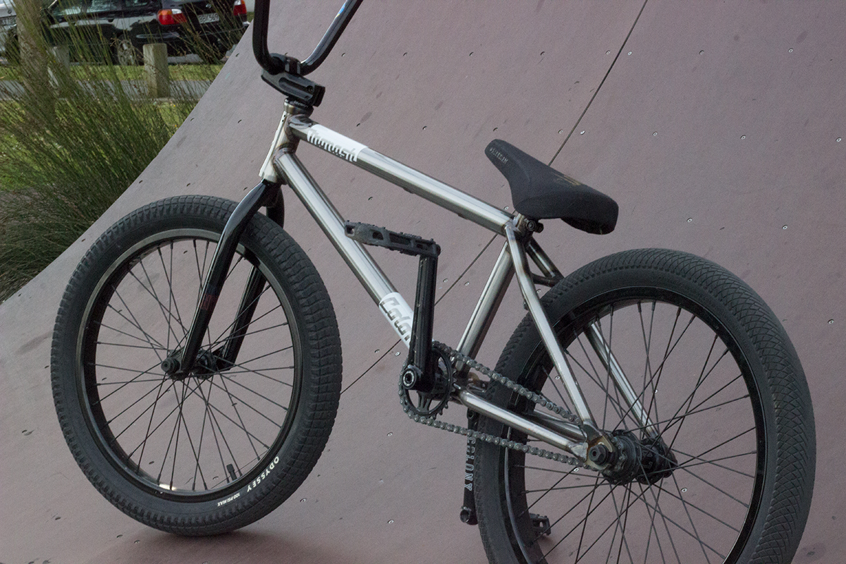 Liam Marshall bike check