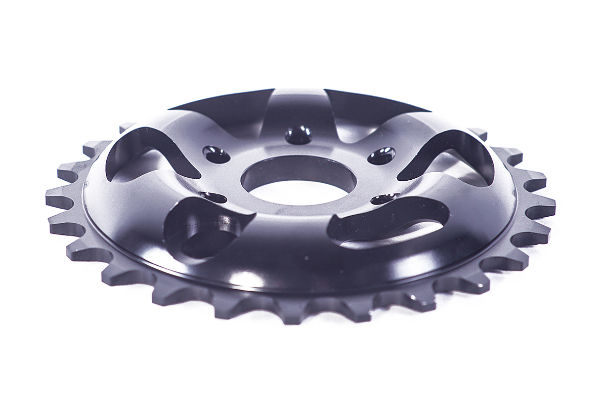 Chris James signature Colony BMX Blaster sprocket Black