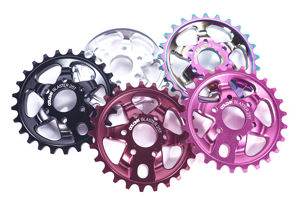 Chris James signature Colony BMX Blaster sprocket