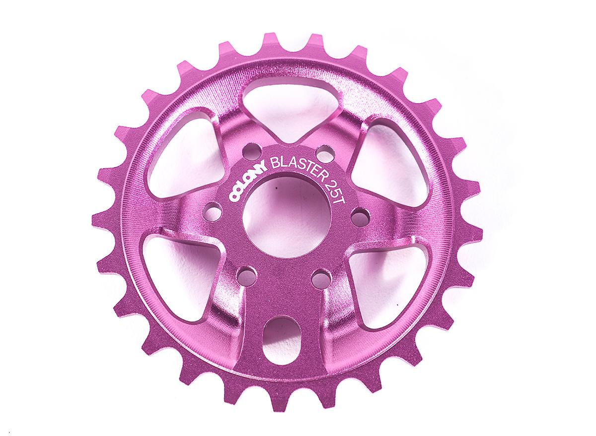 Chris James signature Colony BMX Blaster sprocket Pink