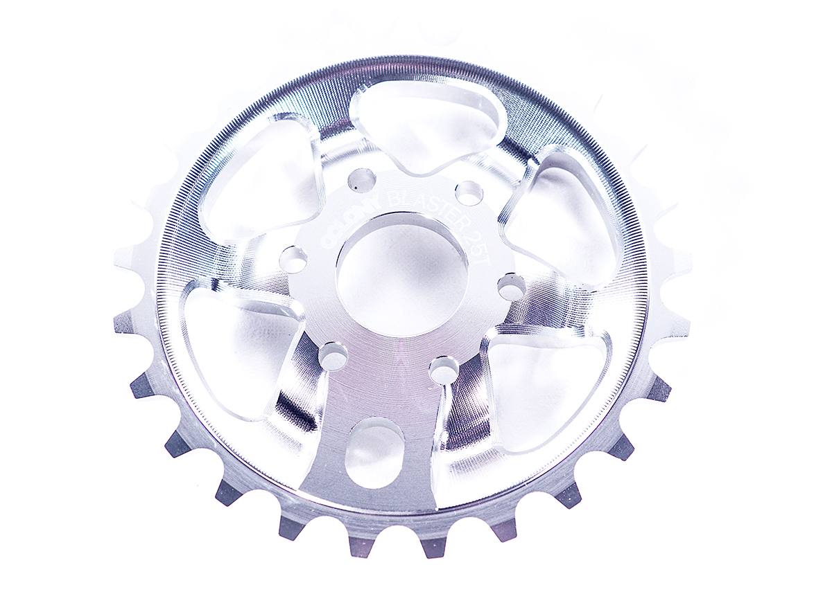 Chris James signature Colony BMX Blaster sprocket Polished
