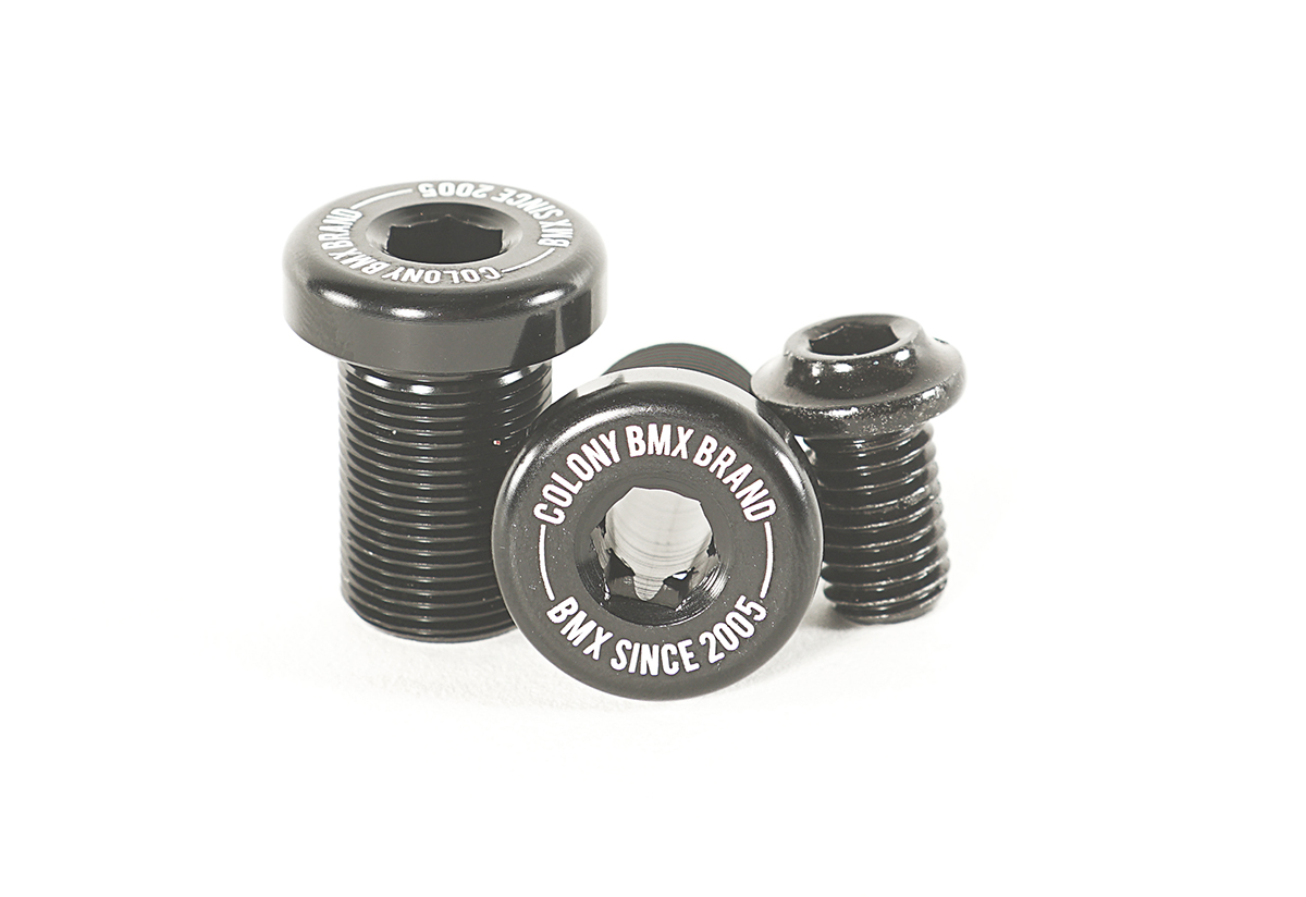 Venator Crank Bolts Black