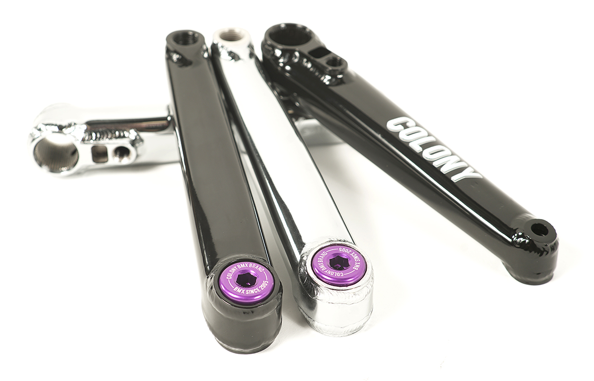 Venator Crank Bolts Purple