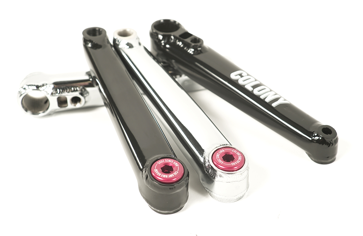 Venator Crank Bolts Red