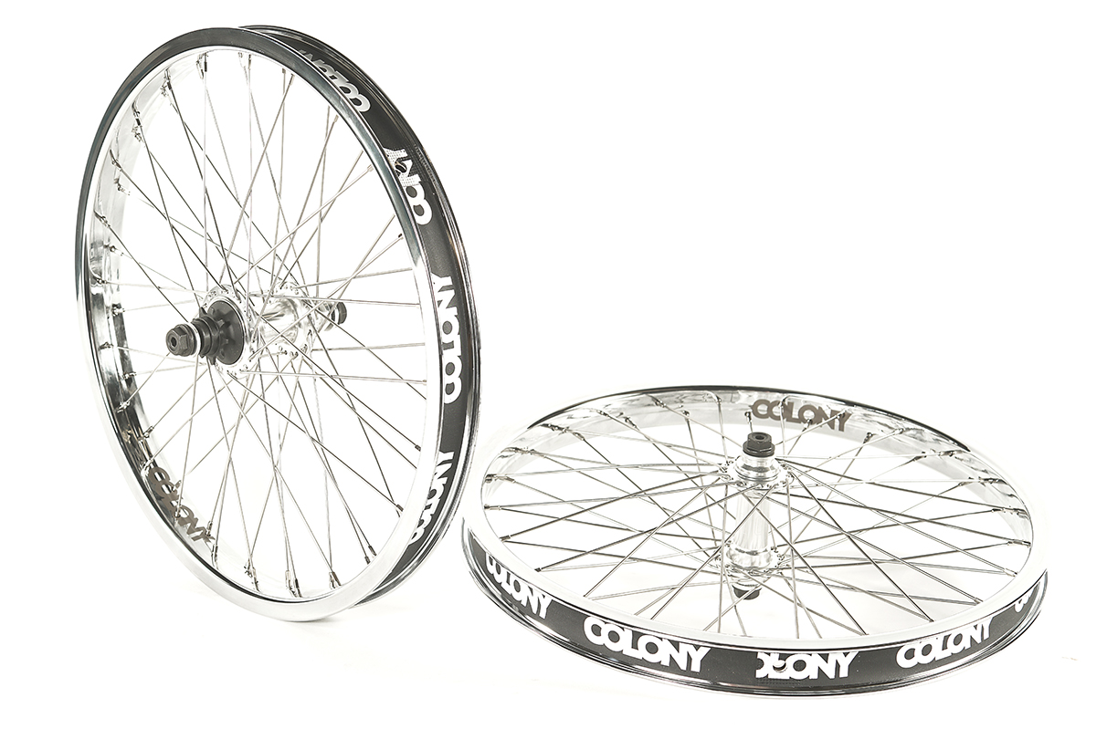 Colony Contour 48H Wheel Set Chrome