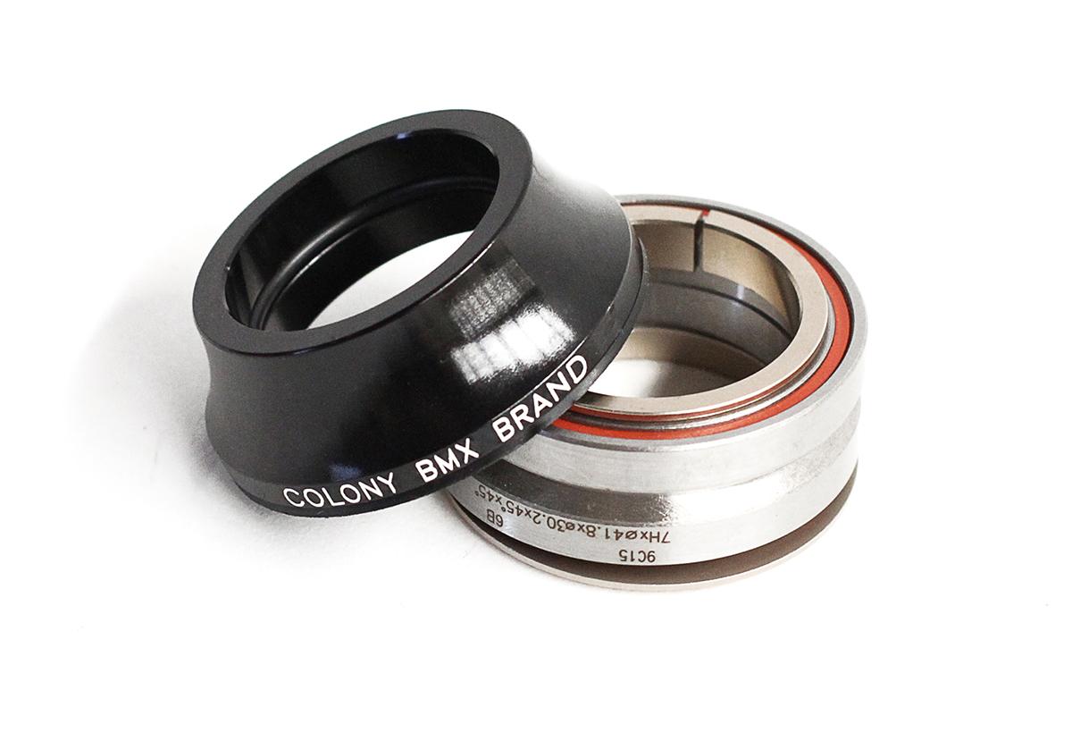 Colony BMX Headset Tall Black