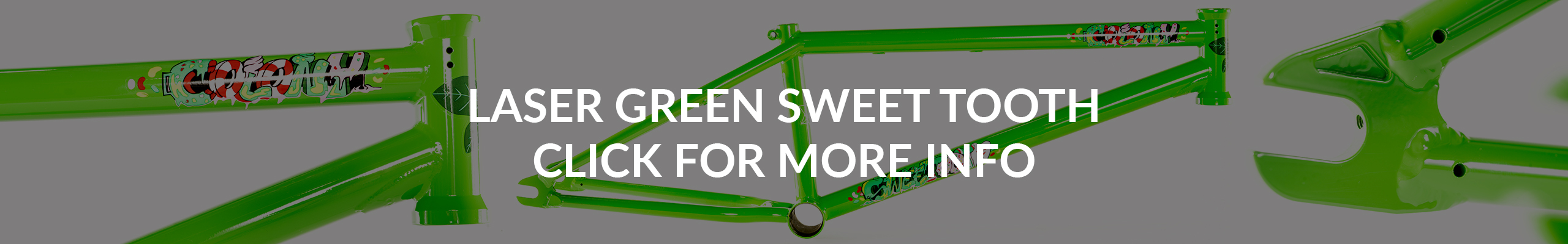 Laser Green Sweet Tooth Frame
